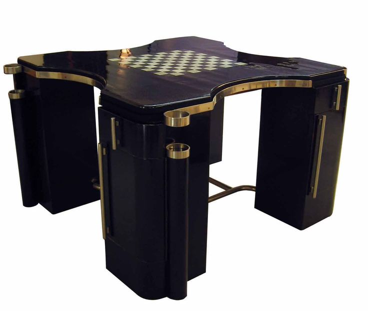 Jean Dunand game table