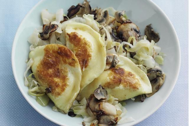 Step 1 of the Perfect Pierogi: Basic Pierogi Dough