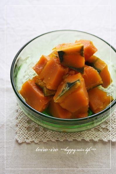 お弁当にも♪レンジde簡単かぼちゃの煮物 by トイロさん | レシピ ...