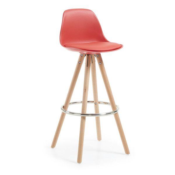 Barová židle Stag, červená