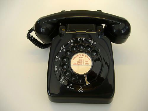 I miss rotary dial phones!