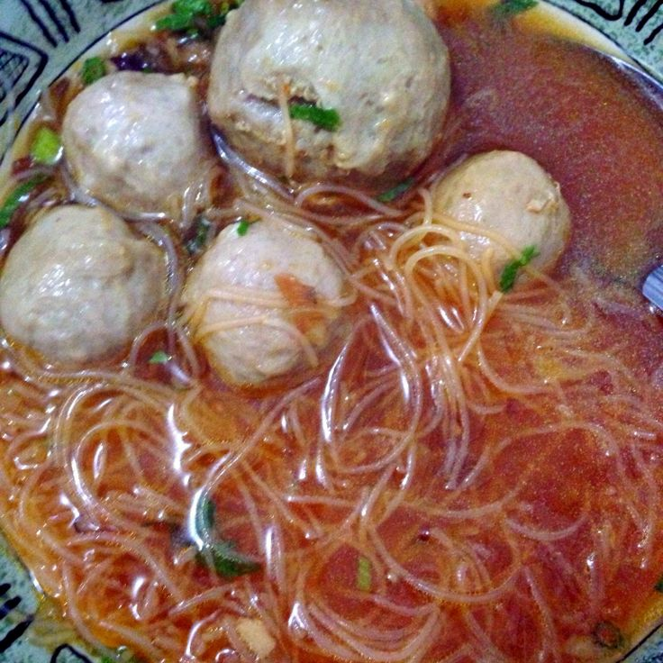 Traditional meat ball