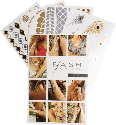 FLASH TATTOOS SOFIA TATTOO SET by: FLASH TATTOOS