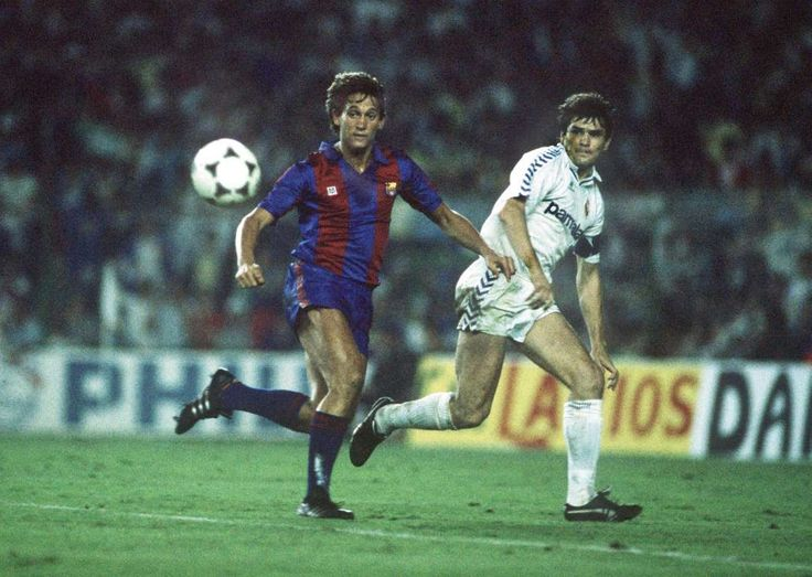 El Clásico classics: the best of Real Madrid v Barcelona:     Barcelona 3‐2 Real Madrid ﴾1987﴿:   England striker Gary Lineker etched his name into El Clasico history as his hat‐trick saw off Real Madrid at the Camp Nou in a Barcelona team managed by Terry Venables. Despite the victory, La Blaugrana lost the 1986‐87 title to Madrid by a single point.