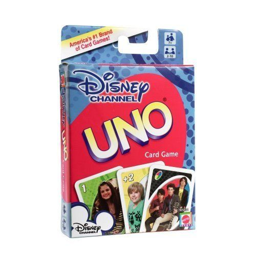 1 X Disney Channel UNO Card Game by UNO Card Game @ niftywarehouse.com