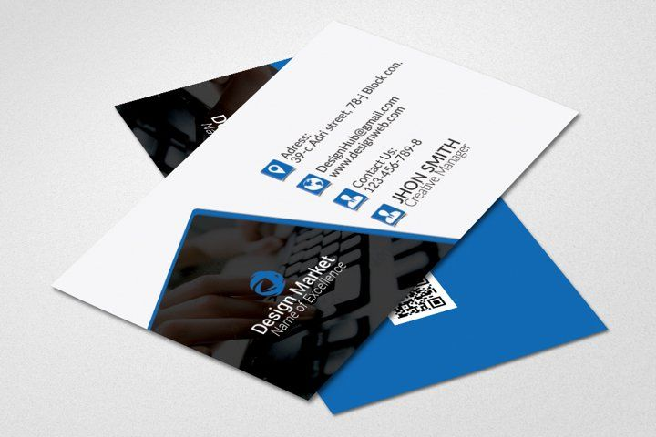Corporate Business Cards 57592 Business Cards Design Bundles In 2021 Business Card Template Design Business Cards Creative Templates Business Card Template