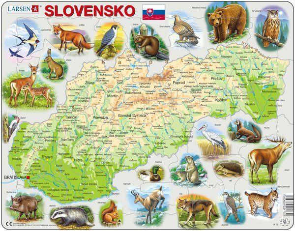 K73 Slovensko a zvierata