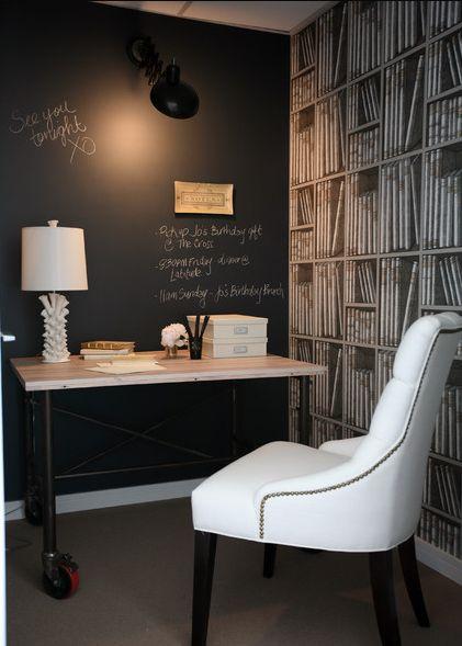 Die besten 25+ Kreide tafel schreibtisch Ideen auf Pinterest - designer tapeten einrichtung maskuline note