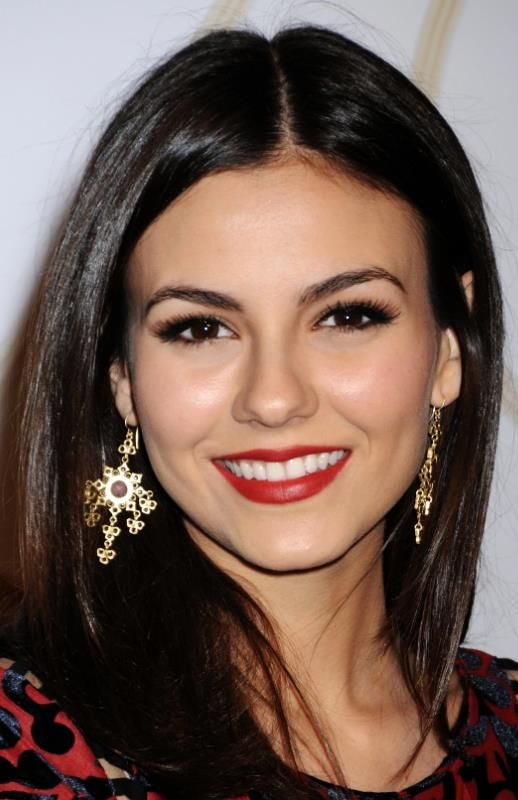 Victoria Justice ♥ Red Lips