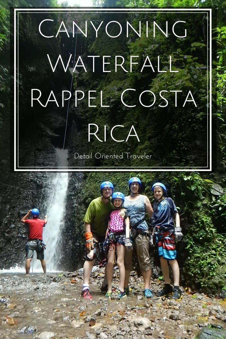 Canyoning Waterfall Rappel in Costa Rica 45