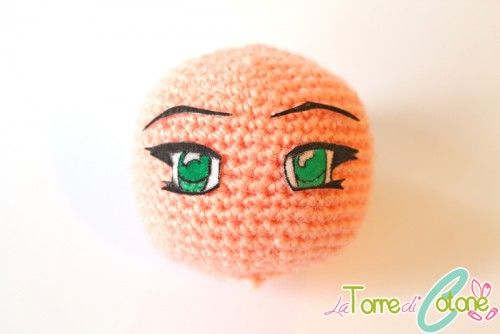How to make these anime looking eyes for amigurumis and toys
