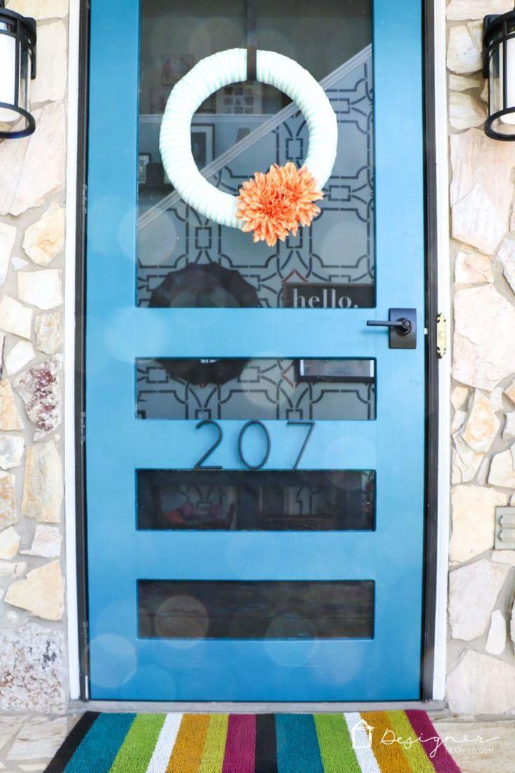 DIY Screen Door Tutorial Diy screen door, Diy door