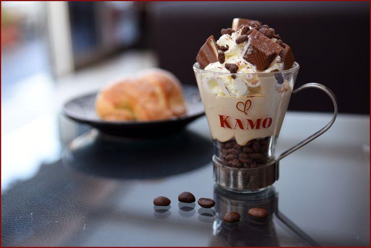 Giornata impegnativa?  Ci pensa un #caffekamo speciale a risollevare il vostro umore!  La pausa di oggi è alla Caffetteria Karol #puntikamo