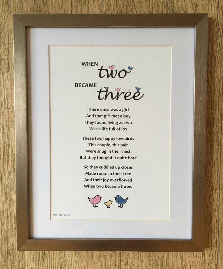 A personal favourite from my Etsy shop https://www.etsy.com/uk/listing/252772841/poem-for-new-baby-gift-for-new-parents