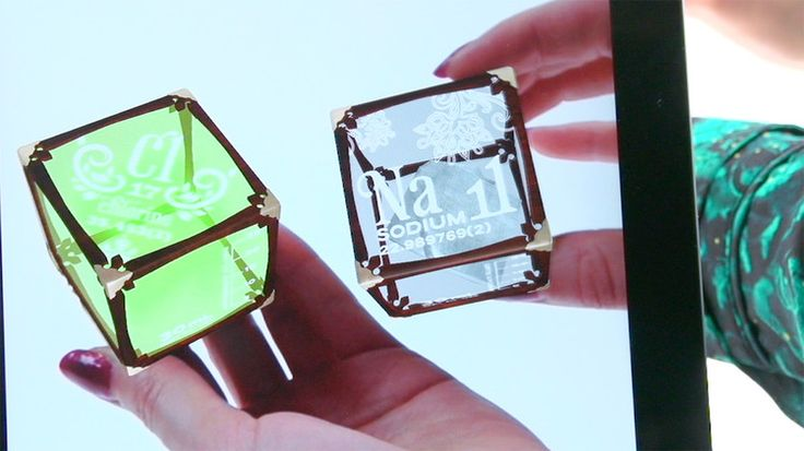 Daqri's 4D Cubes Use Augmented Reality To Teach Kids The Periodic Table Of Elements