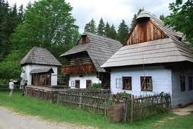 Original 400 year old cottages, Slovakia