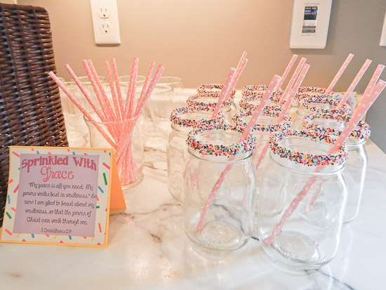 Sprinkled with Love Baby Shower | CatchMyParty.com