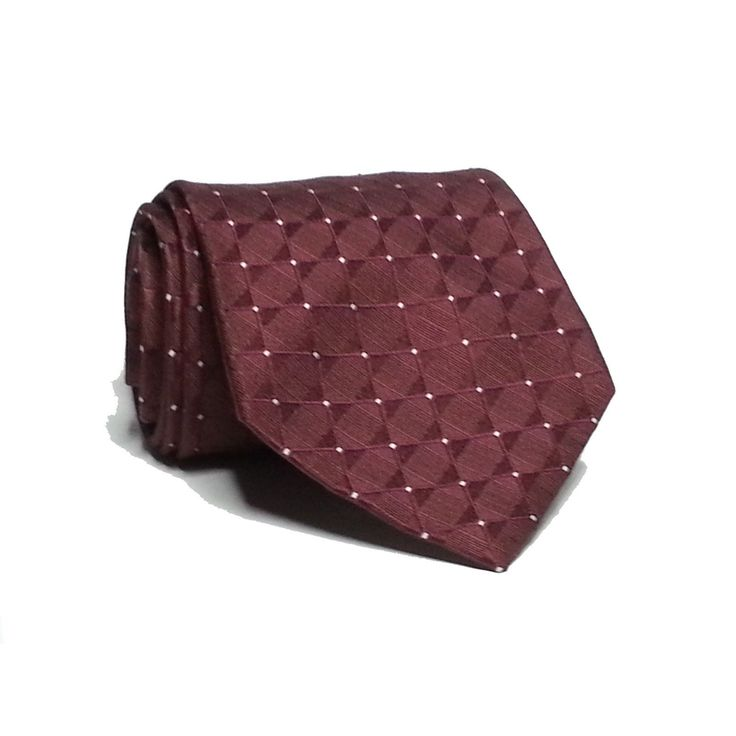 "#ebay Calvin Klein Men's Dress tie 3.5"" wide 58"" Long  Dark Red Burgundy with Dots CalvinKlein withing our EBAY store at  http://stores.ebay.com/esquirestore"