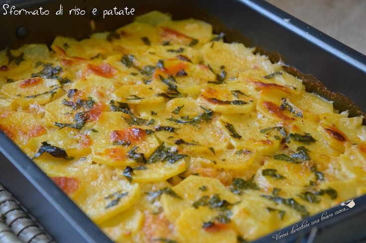 Timbale of rice and potatoes (1)