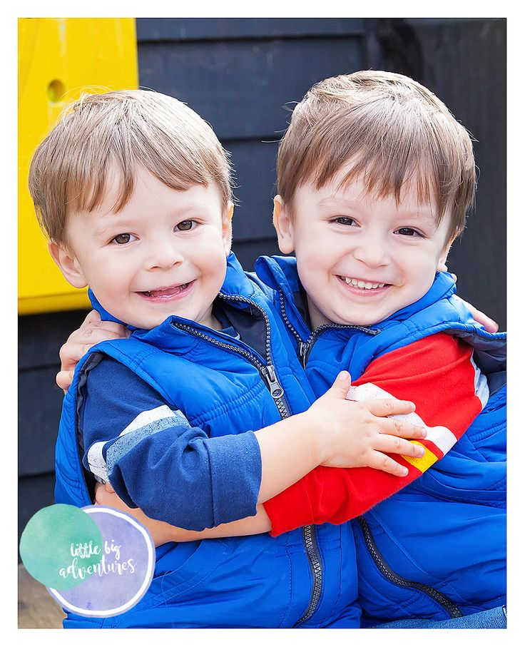 Sweet brothers at Daycare by Little Big Adventures Childcare Photography