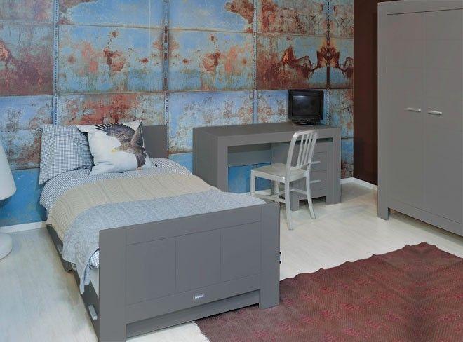 Tienerkamer merel cool grey behang kids s pinterest kids rooms wallpaper and room - Behang tienerkamer ...