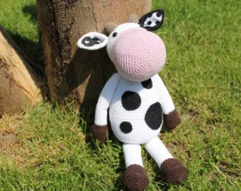 Amigurumi Cowco : Amigurumi pattern Bella the Cow Amigurumi Pinterest ...