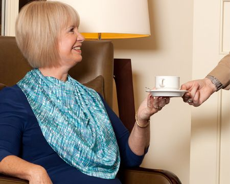Scarf Bibs for Adults | New product tackles dignity in care | Cambridge Business News ...