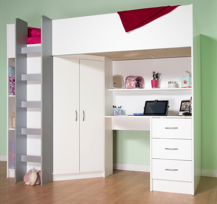 Cabin beds, Midi Beds, High Sleeper beds, Childrens Beds, Teenager beds, all made in our UK Factory with Direct prices.