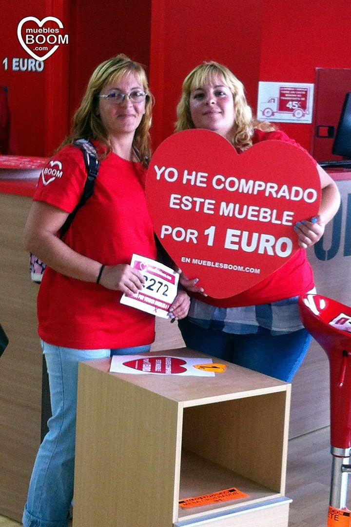 Gran promoci n de muebles a 1 euro de muebles boom en - Muebles a 1 euro ...