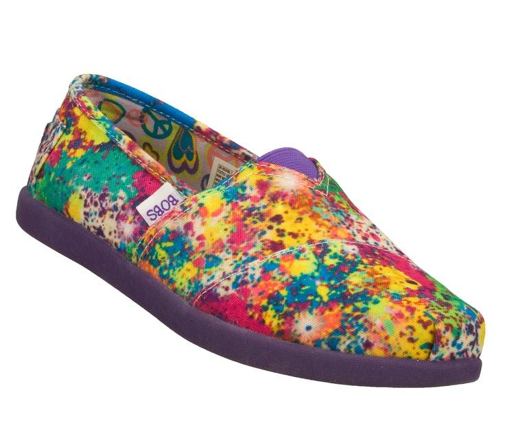 Buy SKECHERS Girls' Bobs World - Starry Skies Slip-On Shoes only $37.00