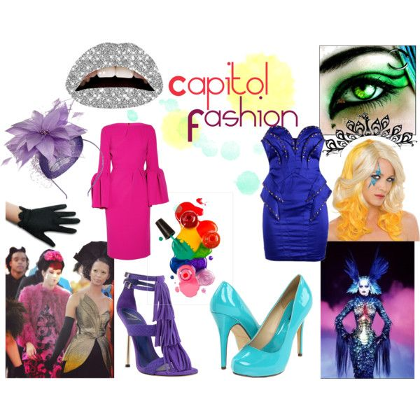 hunger games capitol fashion created by vidah - Halloween Fashion Games