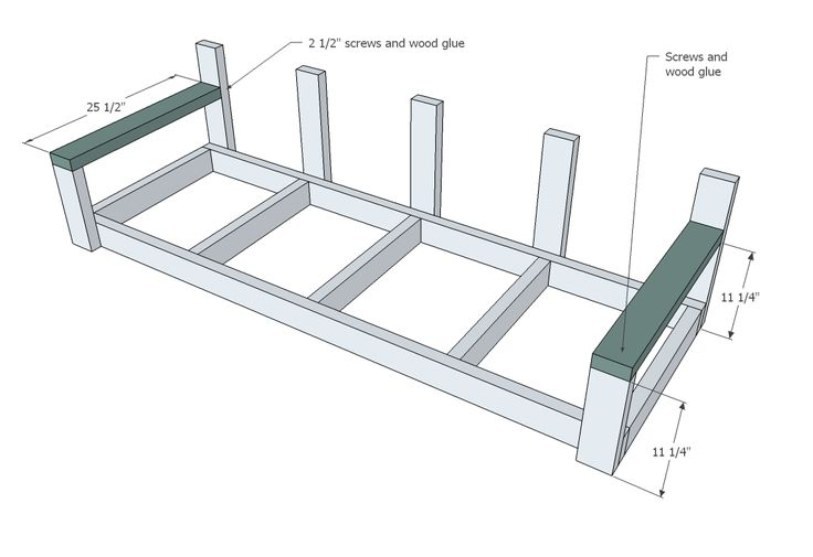 Large Modern Porch Swing or Bench