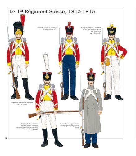 1° Rgt. Fanteria di linea svizzero 1813-1815