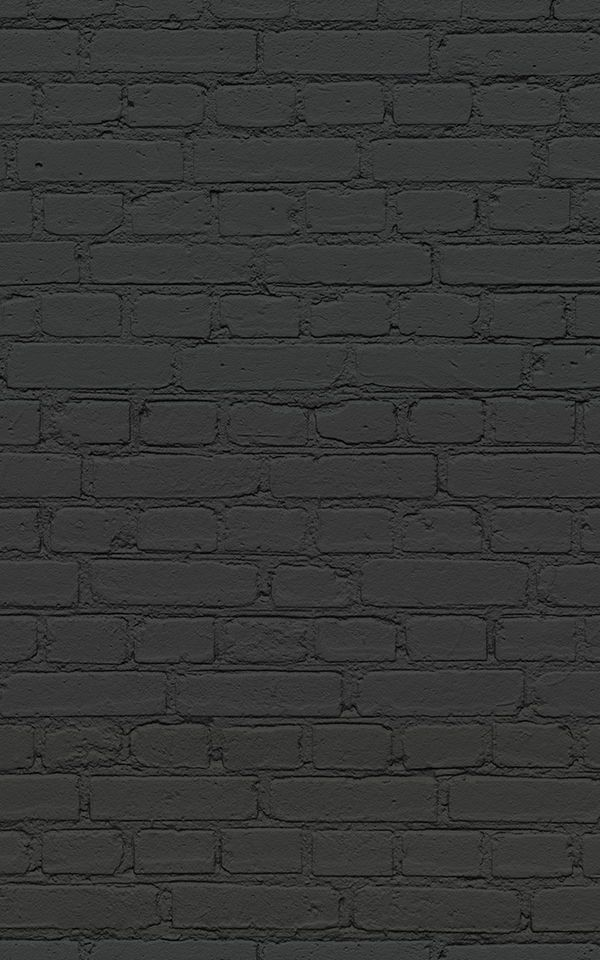 Best Black Brick Wallpaper Dark Brick Effect 400 x 300