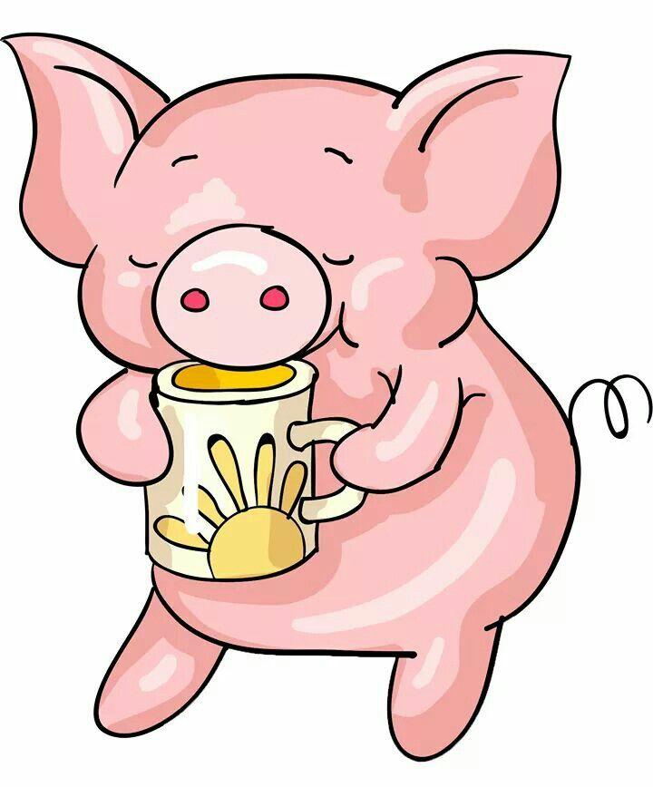 Свинки картинки прикольные нарисованные