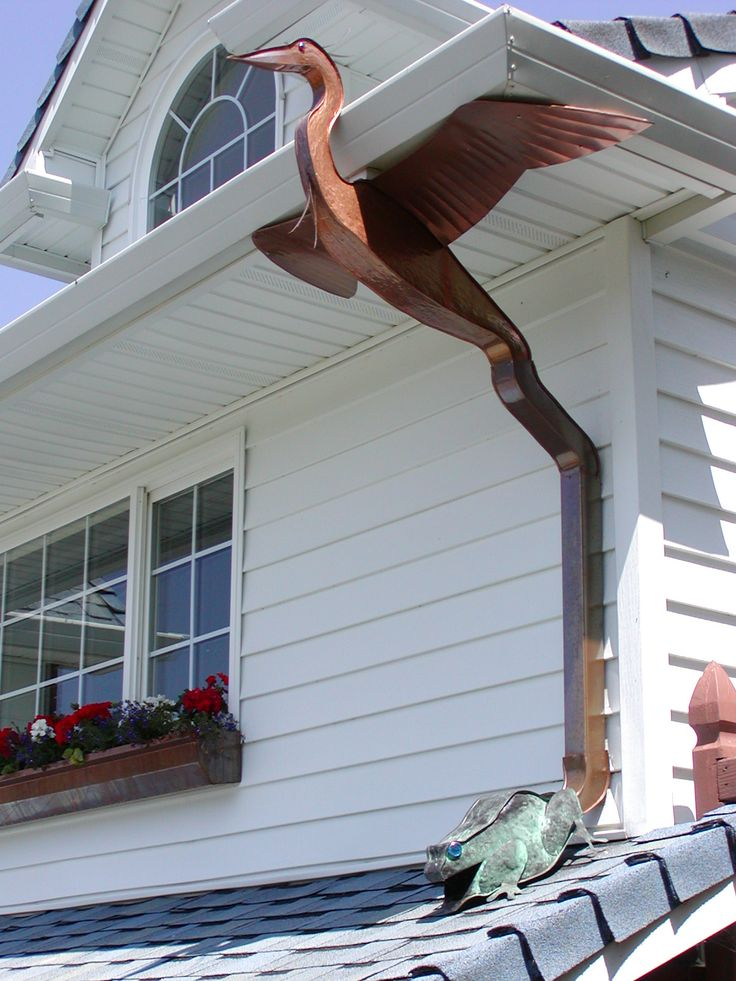 62 best images about Decorative Copper Downspouts on ...