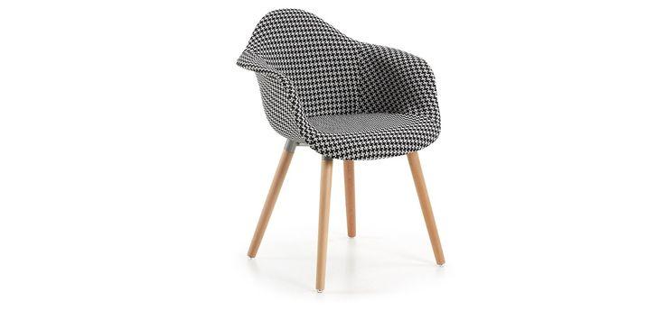 Kenna Houndstooth Armchair www.simpletaste.pt