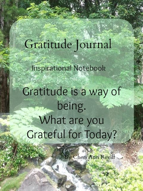 Gratitude Journal with original quotes scattered throughout!