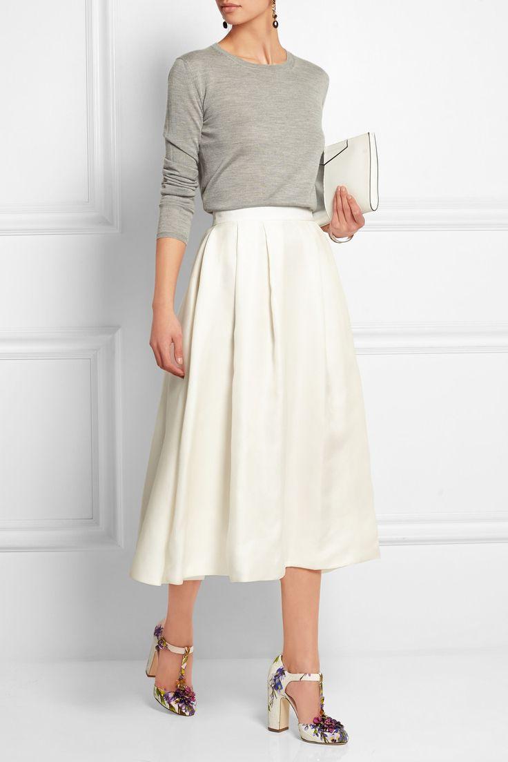 Dolce & Gabbana|Embellished floral-print brocade T-bar pumps|NET-A-PORTER.COM
