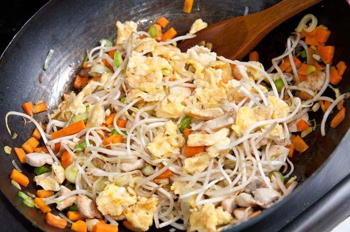 haciendo arroz chino