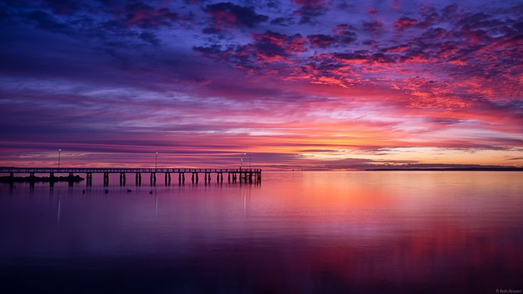 Wellington Point Jetty Sunrise by Rob Brown on 500px