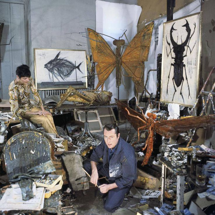 A good studio for an artist is the most important place. For us the creative studio sometimes might look like a pile of rubbish or a room where everything is mixed up , but this is where the great creations were born!