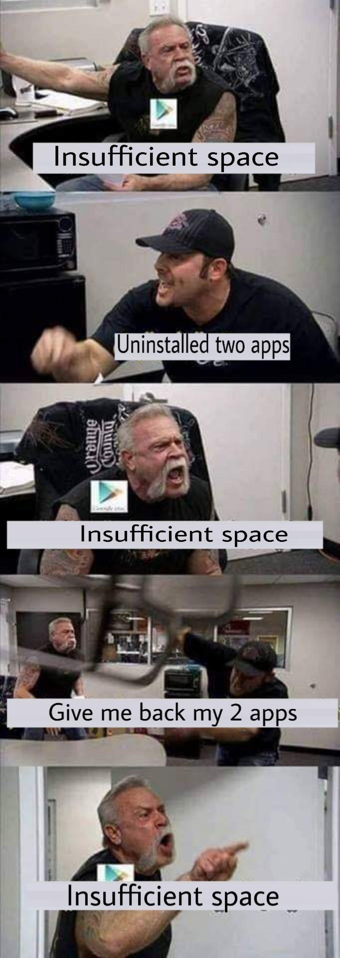 Good Old Times Meme