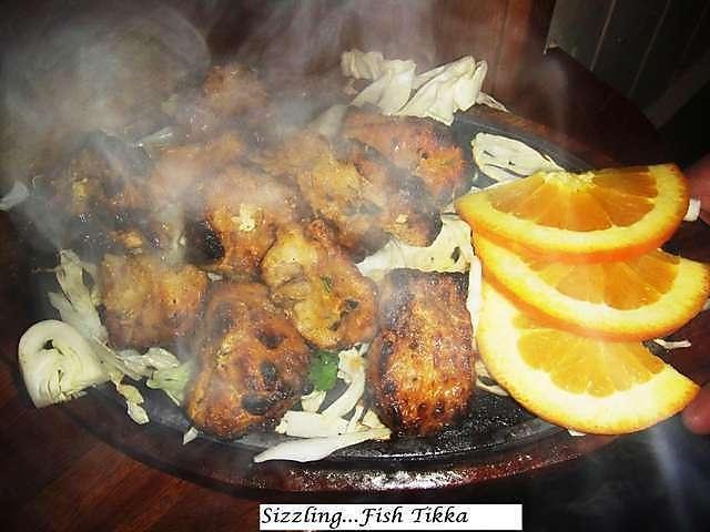 Indian restaurant Fish tikka with cheap prices $50 Indian food at @Tandoori Flames