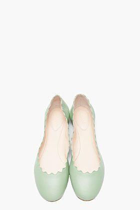 CHLOE Mint green