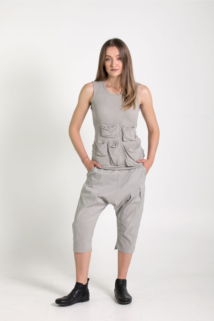Rundholz Dip | Et Vous | Grey Top and Pants
