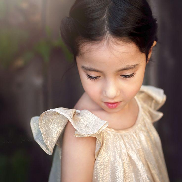 PRE-SALE: Pretty Special - Silk Chiffon in Gold Lurex