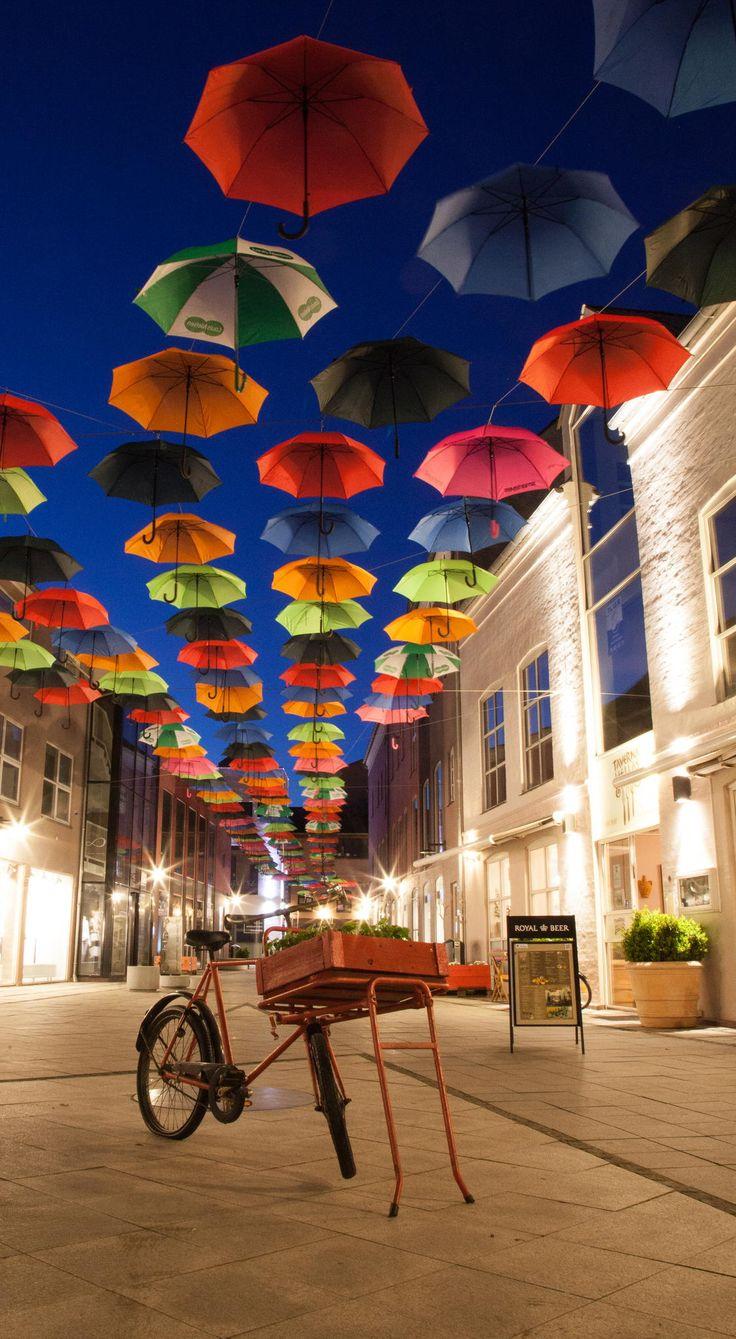 Vejle by night by :kolon (Martin W. Hansen) on 500px