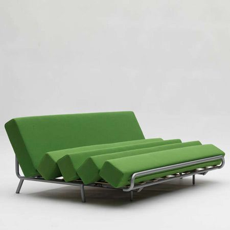 Transformer Furniture: Rearrange The Cushions To Turn Sofa Into Bed :  TreeHugger
