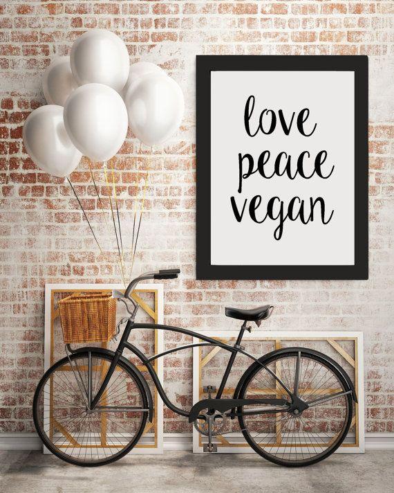 veganer moderne kunst rå inspirerende citat vegetar door RAWVOLUTION